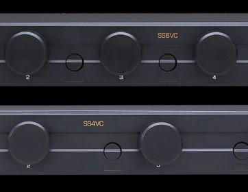 Speaker Selectors with Volume Controls