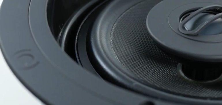 Встраиваемая акустическая система VP66R в видеообзоре